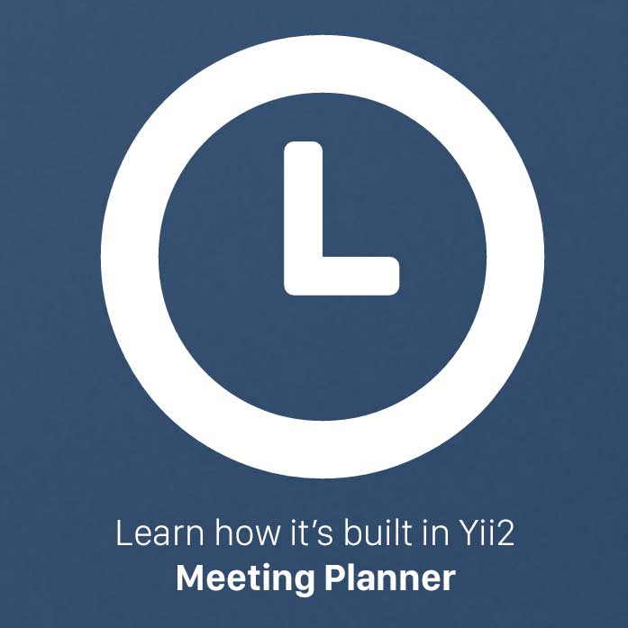learn yii2 the meeting planner startup tutorials